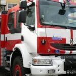 Пожар до бившата ветеринарна лечебница в Поморие
