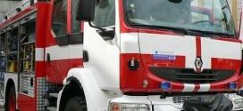 Камион се запали в движение малко преди Поморие