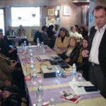 Среща в Поморие с учители, социални работници и представители на неправителствени организации.