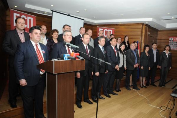 Водачът на листата на Коалиция за България във 2 МИР Димчо Михалевски:
