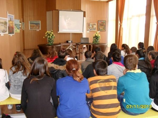 Информационна кампания за трафика на хора в Каблешково