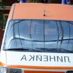 Пътничка с контузия на главата след внезапно спиране на автобус