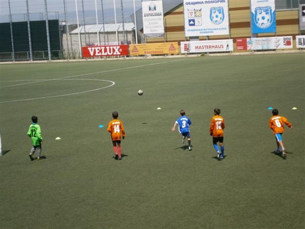 Проведе се детски турнир по футбол