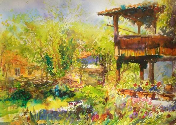 Изложба акварел на Иван Додов в Поморие