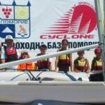 """ОМСК """"Циклон"""" Поморие с втора нова лодка"""