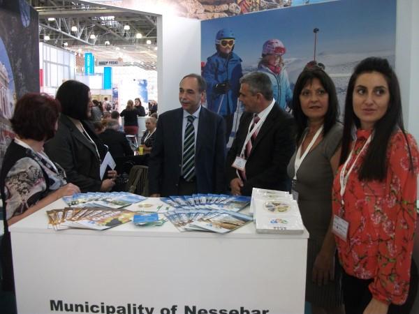 Община Несебър се представи на туристическо изложение в Москва