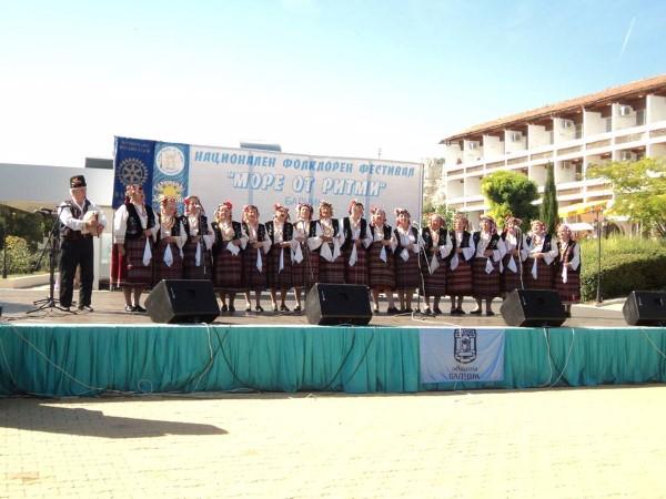 """Трето място на национален фестивал спечели Фолклорна група""""Здравец"""" от Ахелой"""