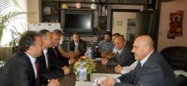 Първо официално посещение на новия кмет на Инедже в Поморие