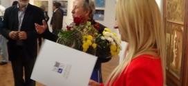Йордан Маринов чества 70 години с изложба и хубаво вино