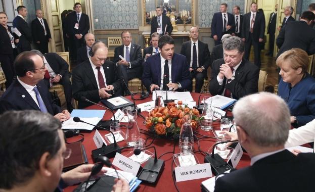 Русия и Украйна постигнаха предварително споразумение за газа след тежки преговори