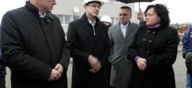 Министър Василева инспектира проектите за ВиК мрежата и пречиствателната станция на Поморие