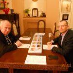 Среща с областния управител за откриване на клон на МАБИК в Бургас