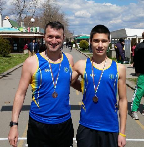 Два медала за Поморие от Националното първенство по спортно ходене