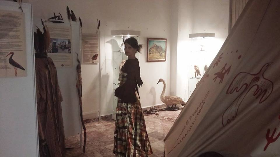 Всички препарирани птици са от фонда на природонаучния музей в гр. Бургас. — в/във ИМ- Поморие.