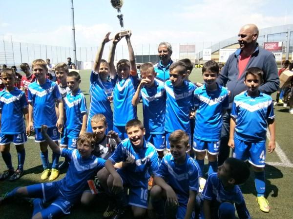 В Поморие се проведе турнир по футбол за деца