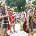 """Древният Анхиало: Римски военен парад, организиран от сдружение """"Скития Минор"""""""