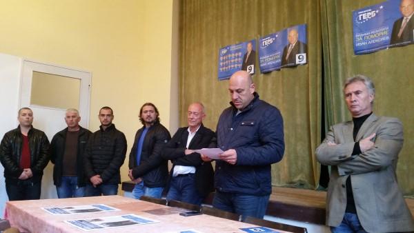 Кандидат-кметът Иван Алексиев се срещна с жителите на Александрово и Порой