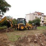 В Ахелой започна изграждането на нова детска площадка