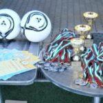 Наградени в училищното първенство по футбол