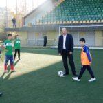 С футболен турнир откриха Ученически игри 2015 / 2016