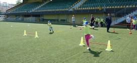 Детски празник на стадиона в Поморие