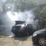 Изгоряха пет автомобила в Бургас