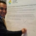 Димитър Канариев подписа в Лондон от името на НАБЧ Протокола за природния капитал
