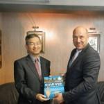 Кметът на Поморие разговаря с новия посланик на Република Корея