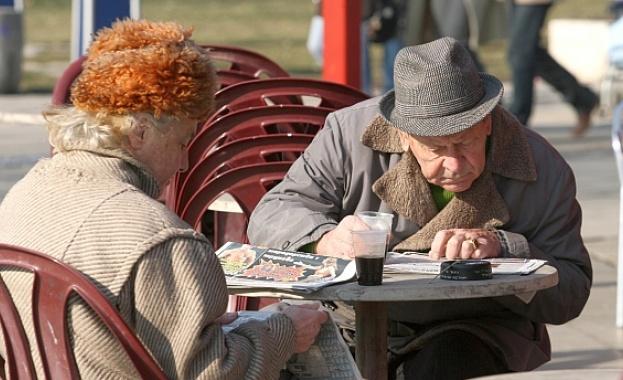 38% от пенсионерите са с минимални пенсии