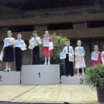 """Медали за състезателите на Клуб по спортни танци """"Блясък""""-Поморие"""