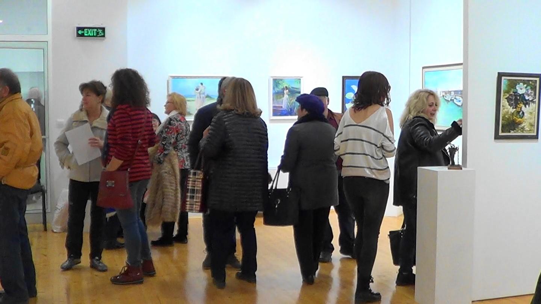 На 14.12.2019 г. Коледна изложба на поморийски художници