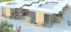 Нови павилиони на мястото на старите в центъра на Поморие