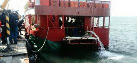 """Започна операция по изваждането на кораба """"КУК"""""""
