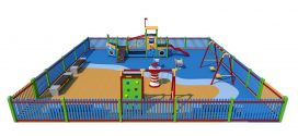 Изграждат нови детски площадки в Поморие