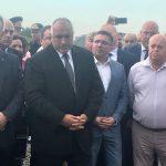 Бойко Борисов откри четирилентовия път от Поморие до Ахелой