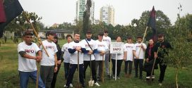 В Бургас засадиха дръвчета по повод 125 години от основаването на ВМРО