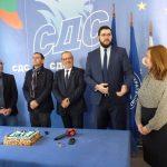 СДС – Бургас представи най-младия член на НИС в историята на партията