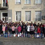 """Съпричастност на децата от  с.Гълъбец  към кампанията """"Сърцето на  Поморие"""""""