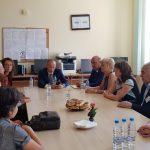 Министърът на образованието се срещна с учители в Поморие