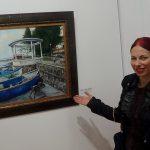 Георги Скумов: Рисувам, защото не мога да не го правя (видео и снимки)