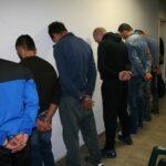 Осем задържани след мащабна полицейска операция в бургаския квартал Победа
