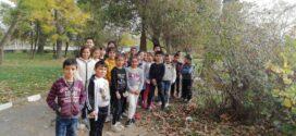 """Учениците от  ОУ """" Г. Ст. Раковски""""в с. Гълъбец се включиха в проект """"Големият лов на растения"""""""