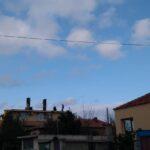 Горя покрив на къща на улица «Цветница»