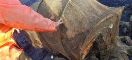 Откриха в канала на Поморийското езеро незаконни винтери