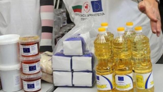 Раздаването в Поморие на хранителни продукти от БЧК е до края на февруари