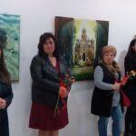 "Шест поморийки подредиха осмомартенска изложба в читалище ""Просвета 1888"" (видео)"