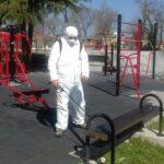 Продължава дезинфекцията на улици и обществени места в община Поморие