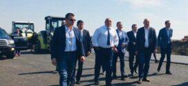 Борисов инспектира изграждането на обхода на Поморие (видео)