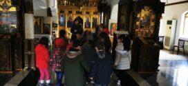 """Ученици от  ОУ """"Хр. Ботев"""" в  манастир """"Св. Георги"""" за Деня на християнското семейство"""