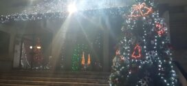 Коледна украса в Каблешково